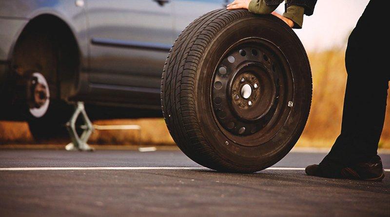 колесо с чужой машины