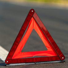 ДТП под Петриковом: Mercedes врезался в Амкодор