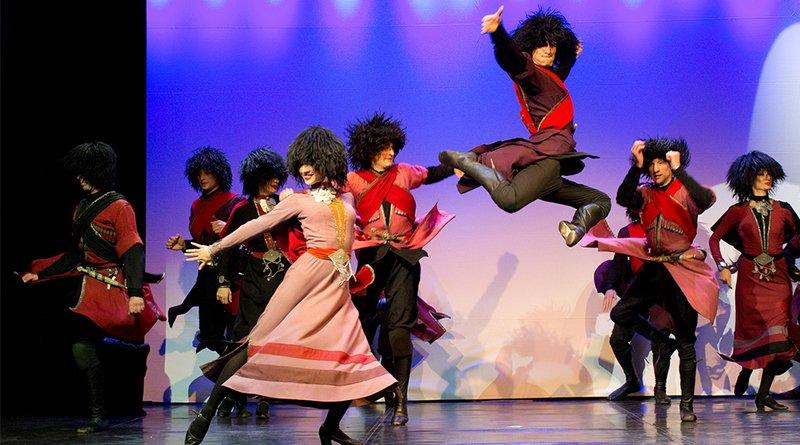 грузинский театр танца Legaсy