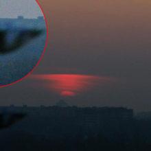 Гомельчанин заснял полёт НЛО над Волотовским озером