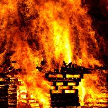 При пожаре квартиры по ул. Рогачёвской спасены 6 человек – погибших нет