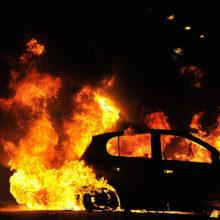 В Речице за ночь сожгли два автомобиля и частный дом