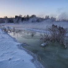 В шести районах области отмечается зимний паводок