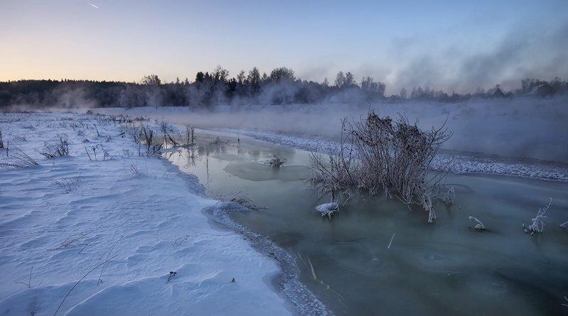 зимний паводок