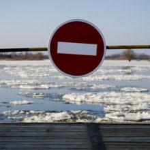 Временный мост через Припять взамен треснувшего строить не будут