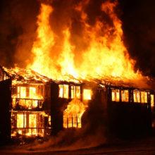 Под Светлогорском в собственном доме сгорела женщина