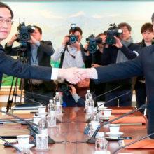 Будет ли ядерный вихрь? Две Кореи мирятся вопреки США