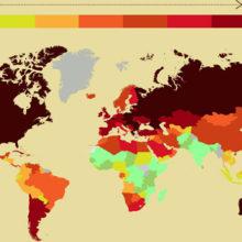 Беларусь вошла в пятерку самых нездоровых стран мира