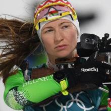 Белорусские биатлонистки выступят сегодня в индивидуальной гонке на 15 км