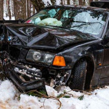 ДТП в Светлогорске: BMW врезался в дерево