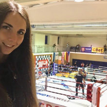 Гомельчанка завоевала бронзу на Международном турнире по муай тай