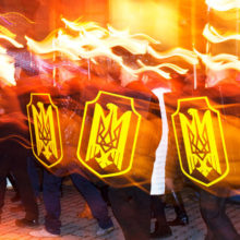 «Национальные дружины» вышли на улицы наводить «украинский порядок»
