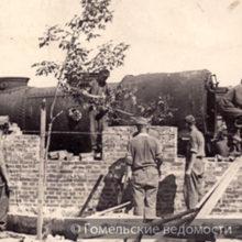 О первых годах возрождения Гомеля после военных лихолетья и разрухи