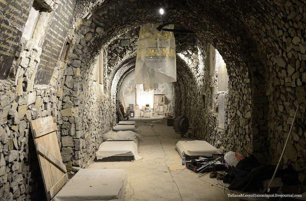 реконструкция усыпальницы Паскевичей
