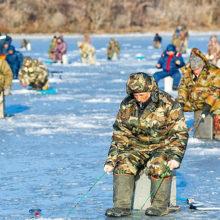 ОСВОД предупредил около 700 гомельских рыбаков об опасности нахождения на льду