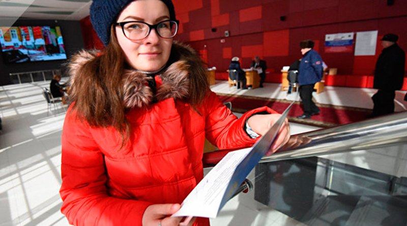 Анна Неврединова проголосовала на выборах президента России впервые в жизни