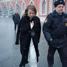 Сторонник Жириновского напал на Ксению Собчак
