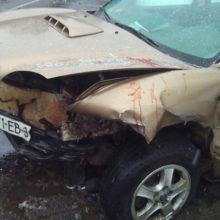 ДТП в Мозыре: «Крайслер» столкнулся с «Хундай»