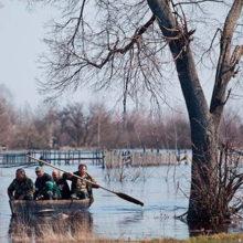 Уровень воды в реке Сож прибавляет более метра в сутки