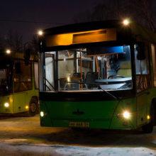 В пасхальную ночь движение общественного транспорта в Гомеле будет продлено
