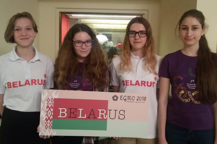 белорусские школьницы