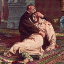В Третьяковке вандал повредили картину «Иван Грозный убивает своего сына»
