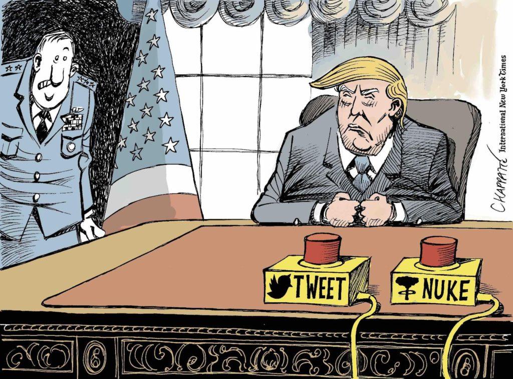 Сирийская дилемма Трампа глазами карикатуриста New York Times