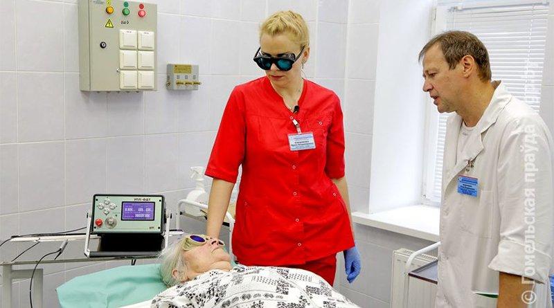 технология лечения рака лазером