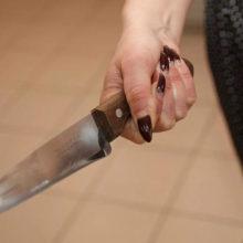 В пьяной ссоре речичанка зарезала мужа ножом
