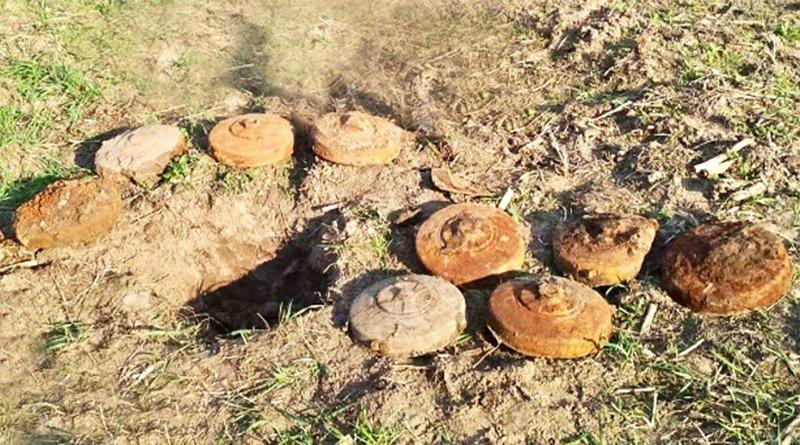 немецкие противотанковые мины