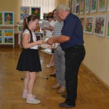 В Гомеле прошла выставка юных художников «Волшебный мир русской сказки»