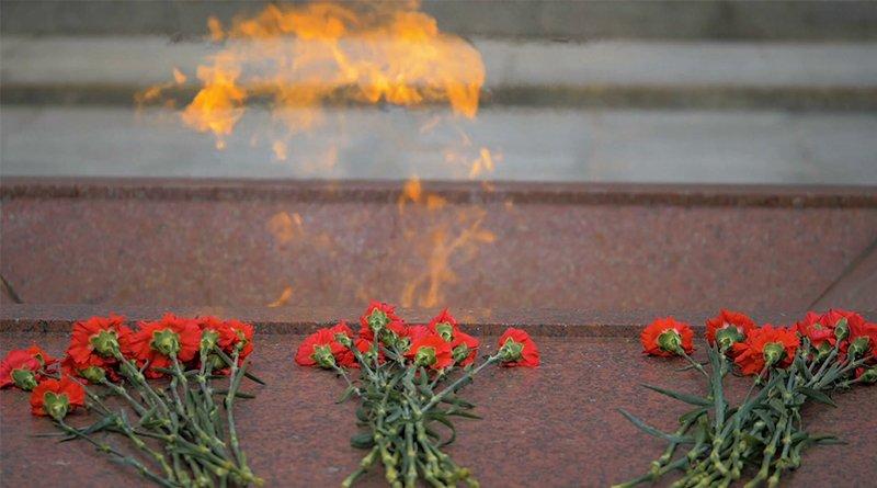 Взрыв возле Вечного огня
