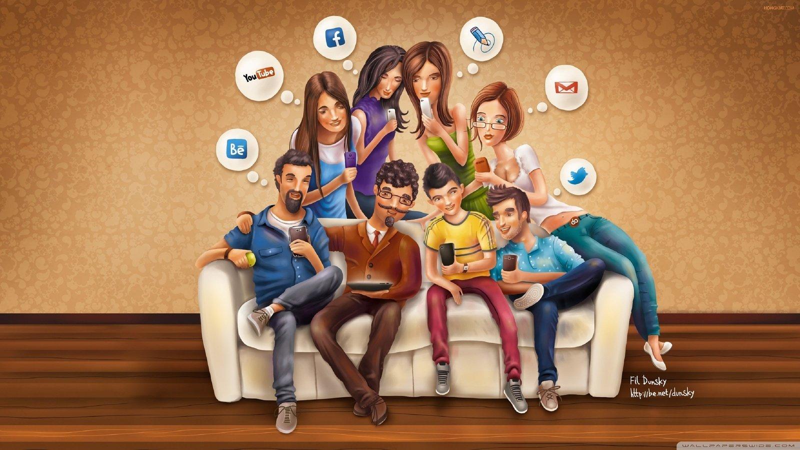опасность соцсетей