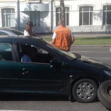 ДТП в Гомеле: оторванное колесо внедорожника помяло несколько авто