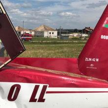 Фотофакт: под Гродно чуть не разбился самолет