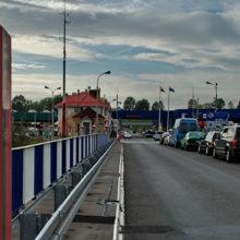 Границу с Беларусью пересекли 800 футбольных туристов