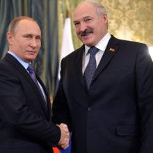 Лукашенко поздравил Путина и российский народ с Днём России