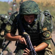 Белорусские военные принимают участие в учениях «Славянское братство» 2018