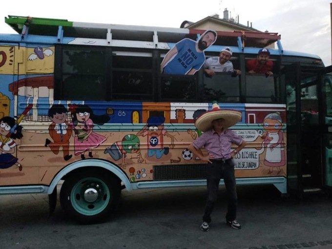 картонный мексиканец