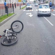 ДТП в Гомеле: молодой водитель на «зебре» сбил велосипедиста