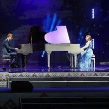Николай Лукашенко покорил зал композицией «Вяртанне да спадчыны»
