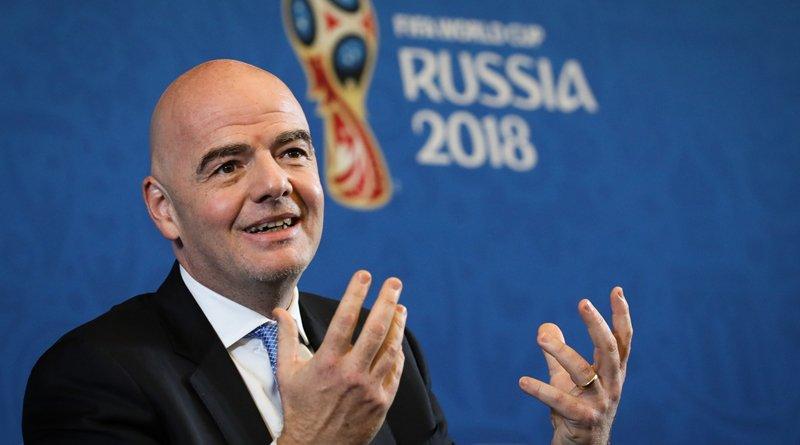 дочь президента FIFA Джанни Инфантино