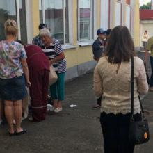 В Барановичах женщина родила на перроне вокзала