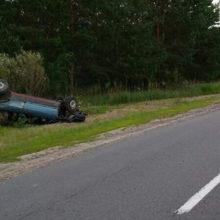 ДТП в Чечерском районе, парень на VW неудачно выехал из деревни