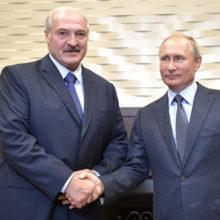 Какими подарками обменялись Лукашенко и Путин