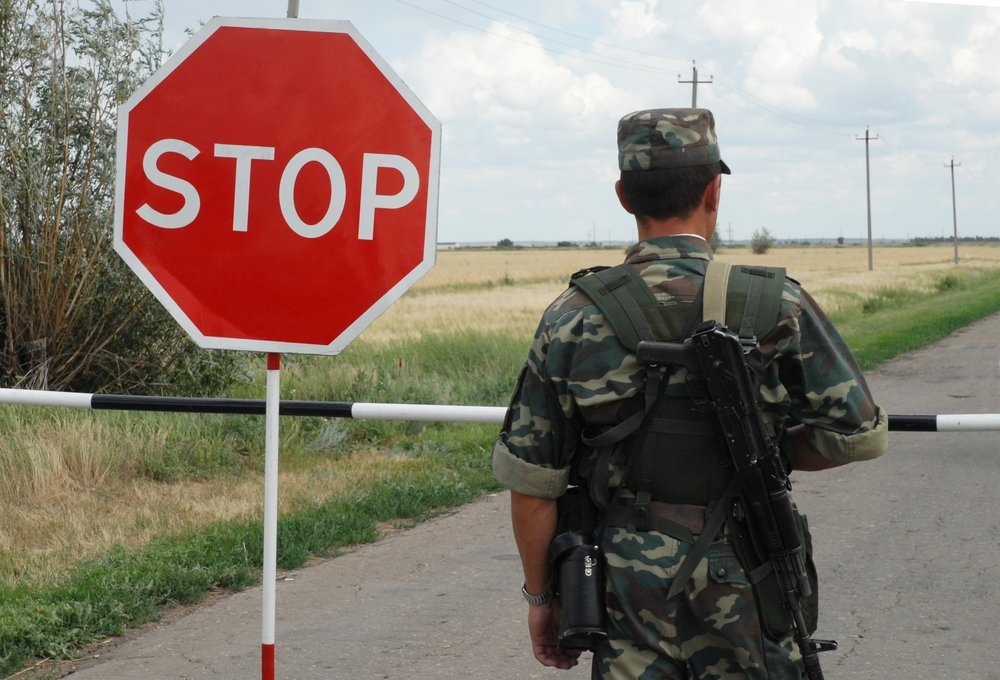 количество задержаний украинских нелегалов
