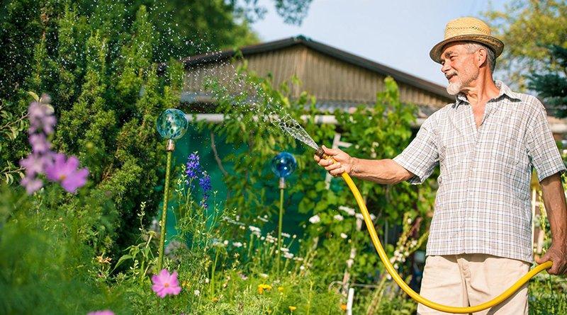 счетчики воды на полив огорода