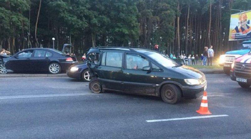 Авария в Гомеле на проспекте Речицком