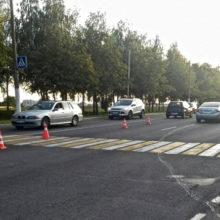 ДТП в Мозыре: водитель с месячным «стажем» сбила пешехода