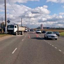 Смертельное ДТП в Мозыре: под МАЗ попал водитель Dacia